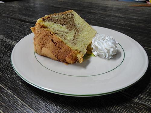 手作りシフォンケーキ